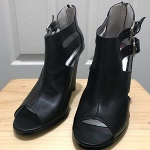 Guess Open Toe Bootie Shoes